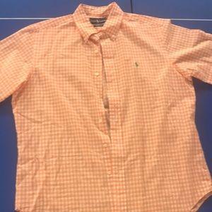 Ralph Lauren short sleeve button down. Size L